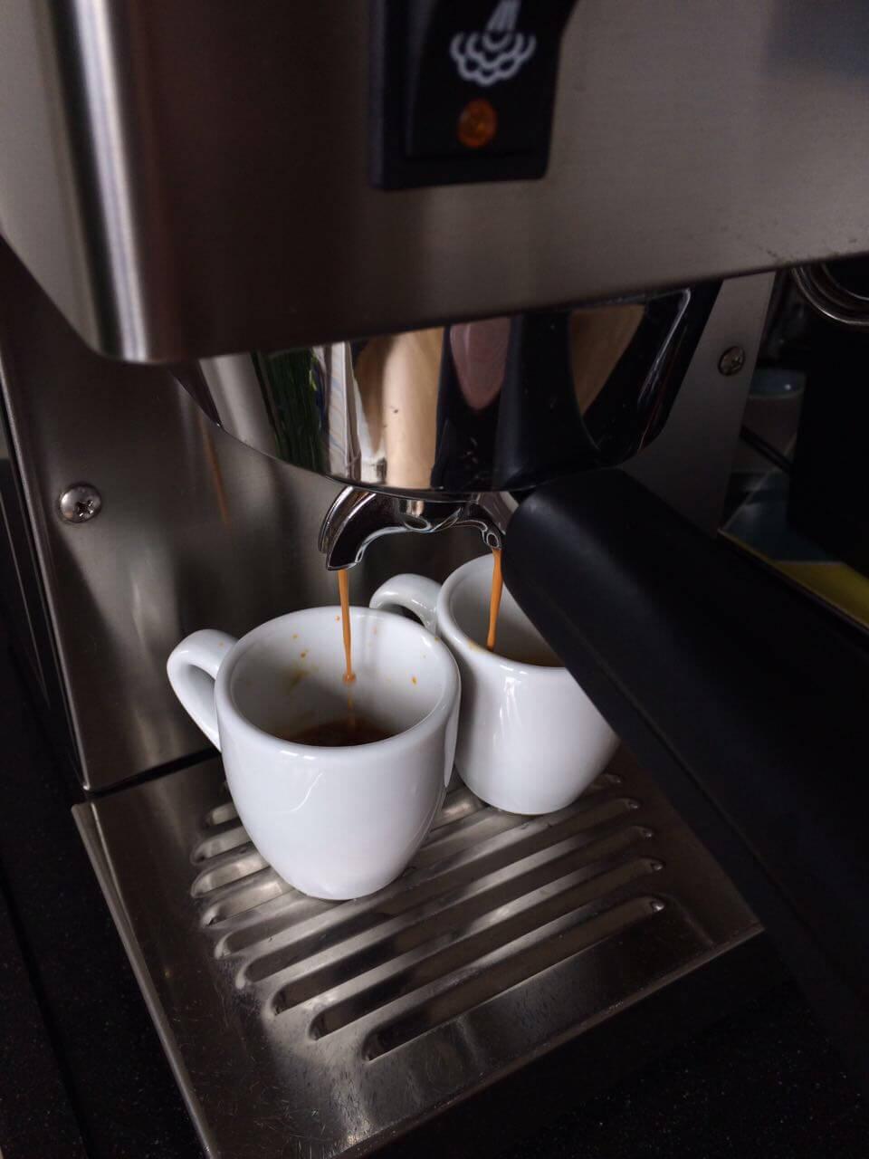 Espressobezug Rancilio Silvia