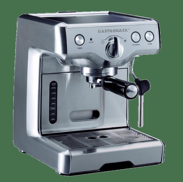 gastroback 42609 espressomaschine test rezension 2018. Black Bedroom Furniture Sets. Home Design Ideas
