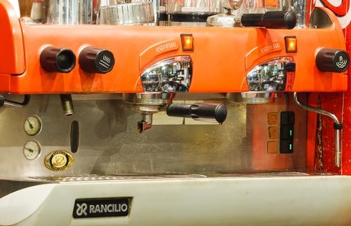 Historische Espressomaschine Rancilio