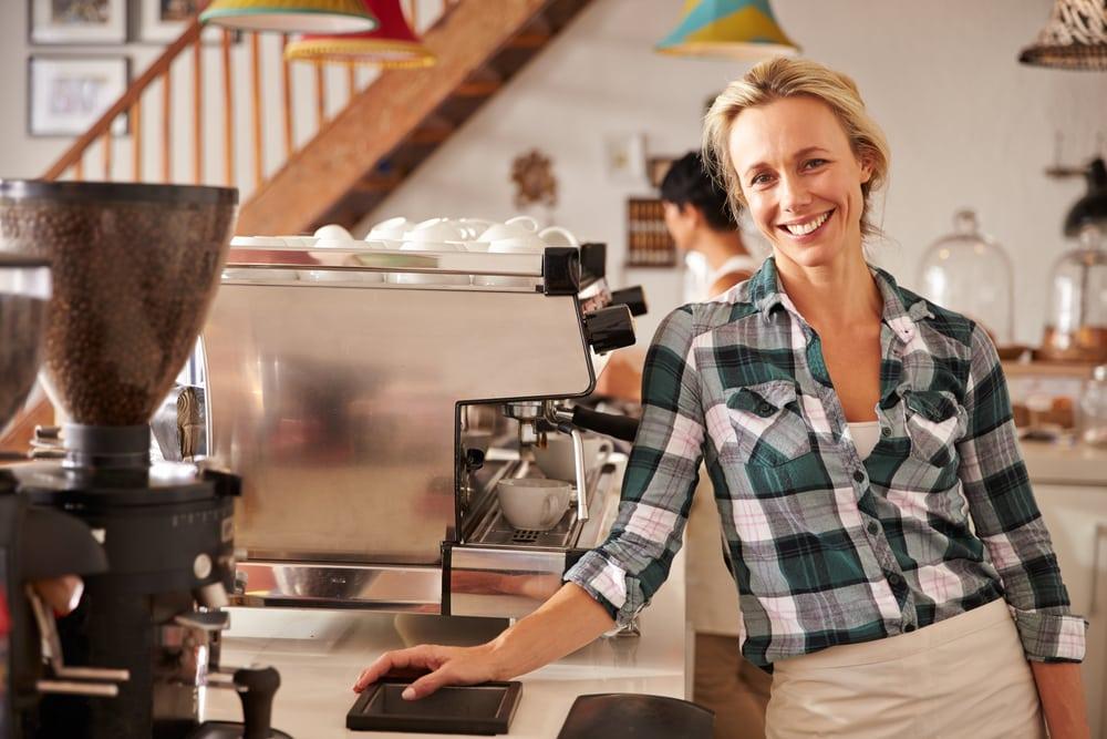 Kaffeevollautomat für das Büro geeignet