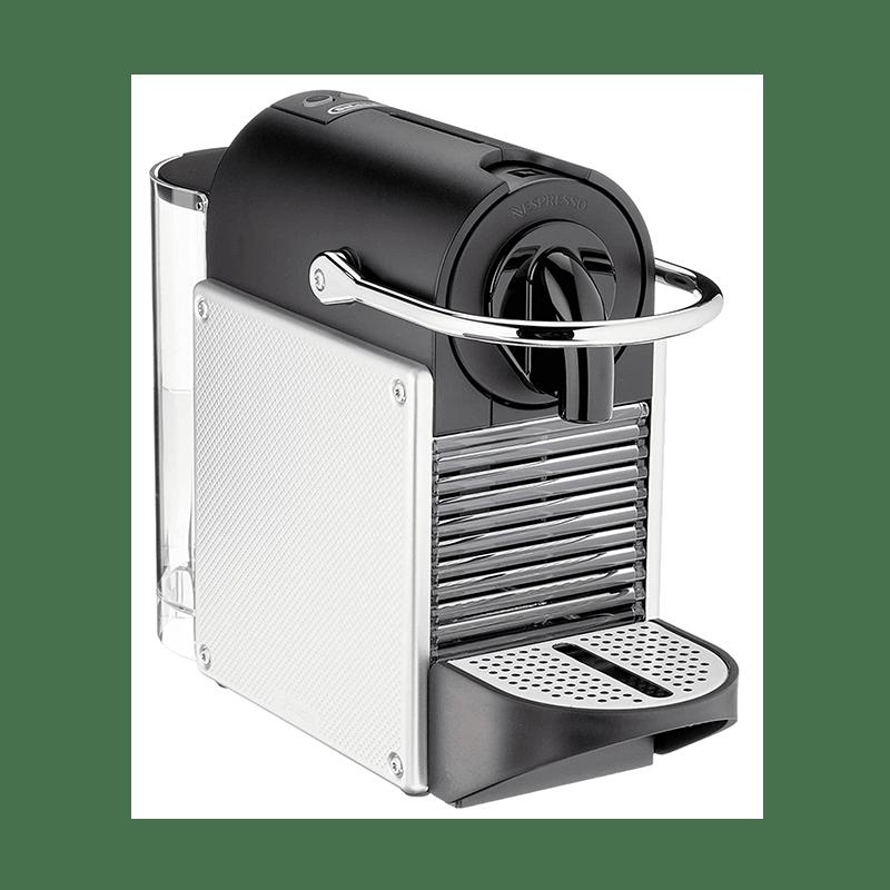 De'Longhi Nespresso EN 124.S Pixie Silber Kapselmaschine